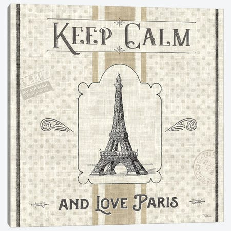 Paris Farmhouse V Canvas Print #PES26} by Pela Studio Canvas Print