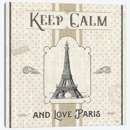 Paris Farmhouse V 3-Piece Canvas #PES26} by Pela Studio Canvas Print