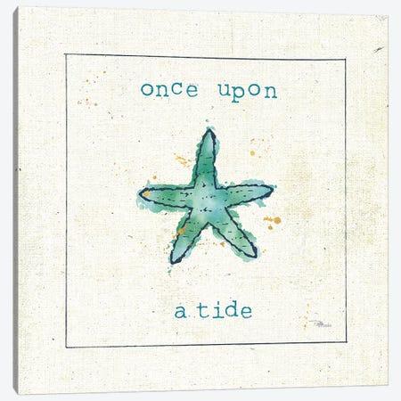 Sea Treasures III - Once Upon a Tide Canvas Print #PES27} by Pela Studio Art Print