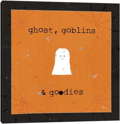 Spooky Cuties III Ghost Canvas Art Print