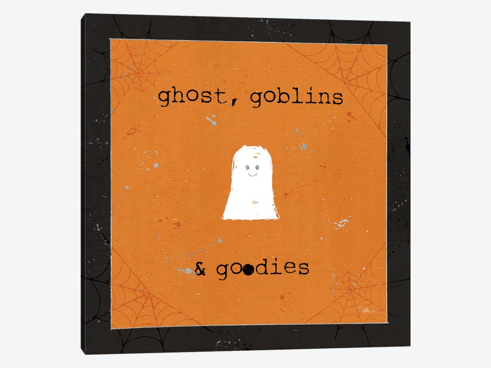Spooky Cuties III Ghost by Pela Studio 1-piece Canvas Art Print