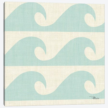 Coastal Farmhouse Pattern IIIA Canvas Print #PES37} by Pela Studio Canvas Wall Art