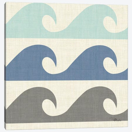 Coastal Farmhouse Pattern IIID Canvas Print #PES40} by Pela Studio Canvas Wall Art