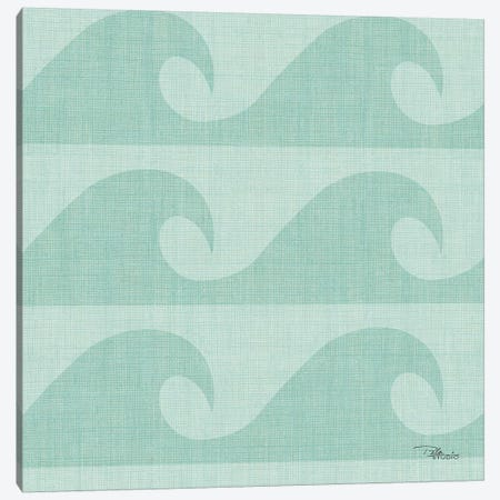 Coastal Farmhouse Pattern IIIE Canvas Print #PES41} by Pela Studio Canvas Artwork