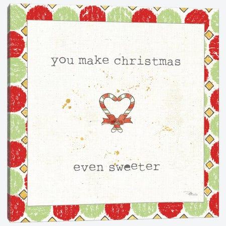 Christmas Cuties II Step 01A Canvas Print #PES47} by Pela Studio Art Print