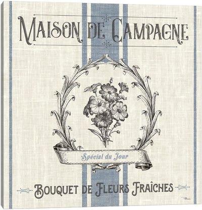 French Farmhouse IV Canvas Art Print