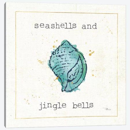 Sea Treasures I Jingle Bells Canvas Print #PES51} by Pela Studio Canvas Art Print