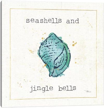 Sea Treasures I Jingle Bells Canvas Art Print