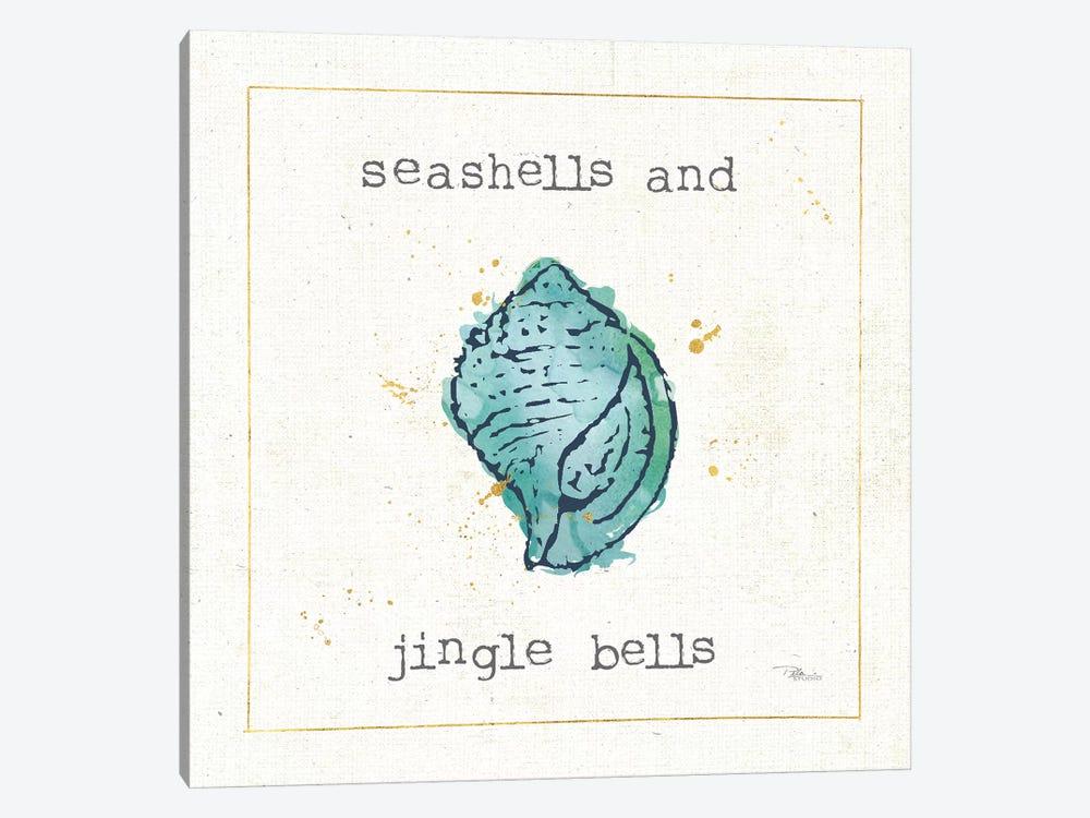 Sea Treasures I Jingle Bells by Pela Studio 1-piece Canvas Art Print