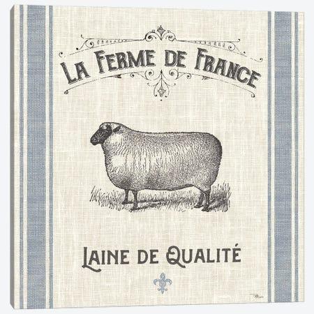 French Farmhouse V Canvas Print #PES5} by Pela Studio Canvas Wall Art