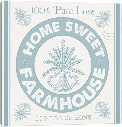 Vintage Farmhouse I Canvas Art Print