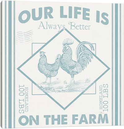 Vintage Farmhouse III Canvas Art Print