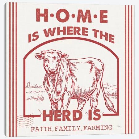 Vintage Farmhouse IV Canvas Print #PES71} by Pela Studio Art Print