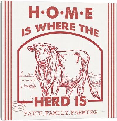 Vintage Farmhouse IV Canvas Art Print