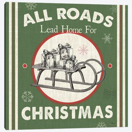 All Roads Lead Home II Canvas Print #PES7} by Pela Studio Canvas Wall Art