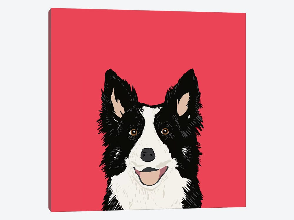 Border Collie by Pet Friendly 1-piece Art Print