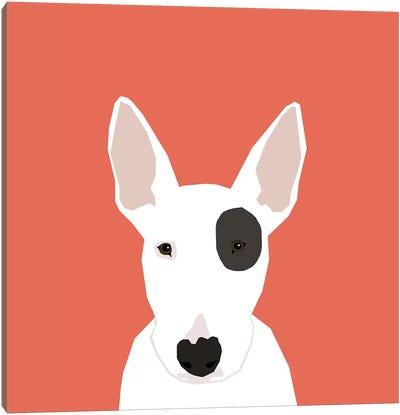 Bull Terrier Canvas Art Print