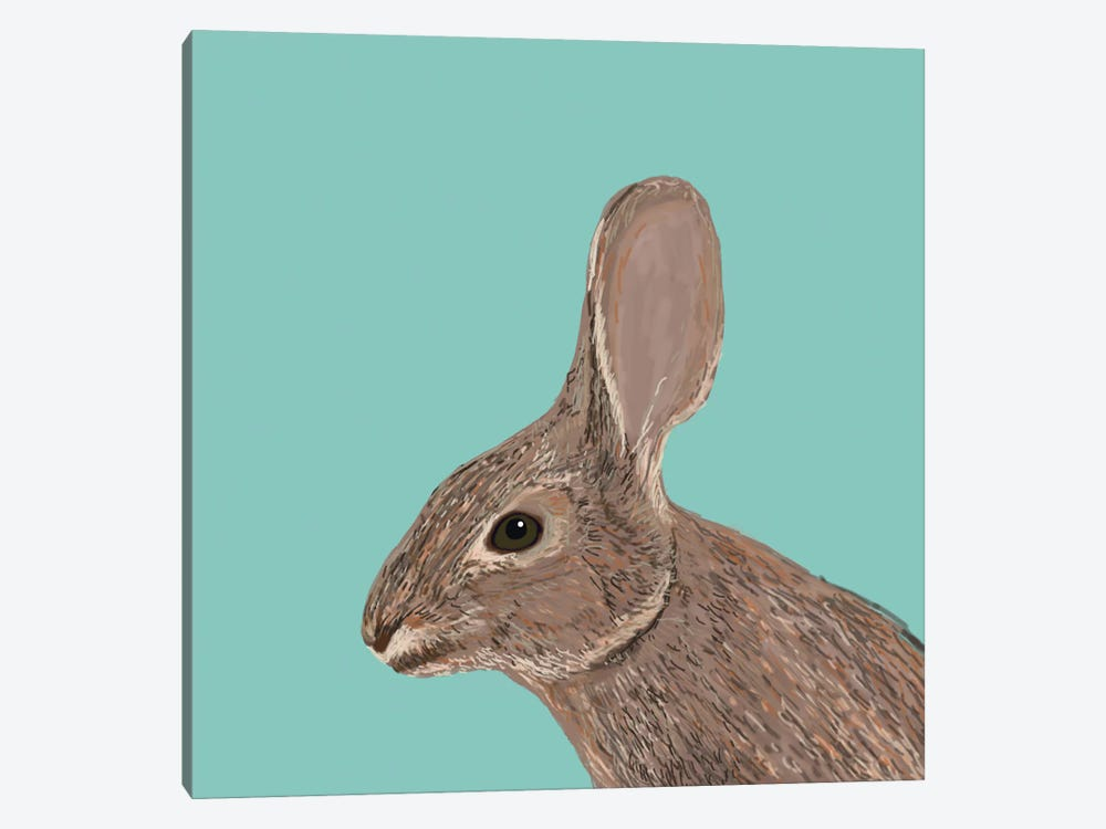 Bunny by Pet Friendly 1-piece Canvas Wall Art