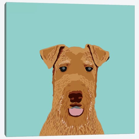 Airedale Terrier Canvas Print #PET1} by Pet Friendly Canvas Artwork