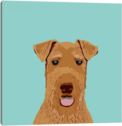 Airedale Terrier Canvas Art Print