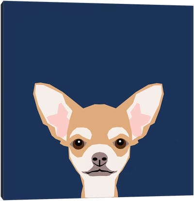 Chihuahua (Short-Haired) Canvas Print #PET24