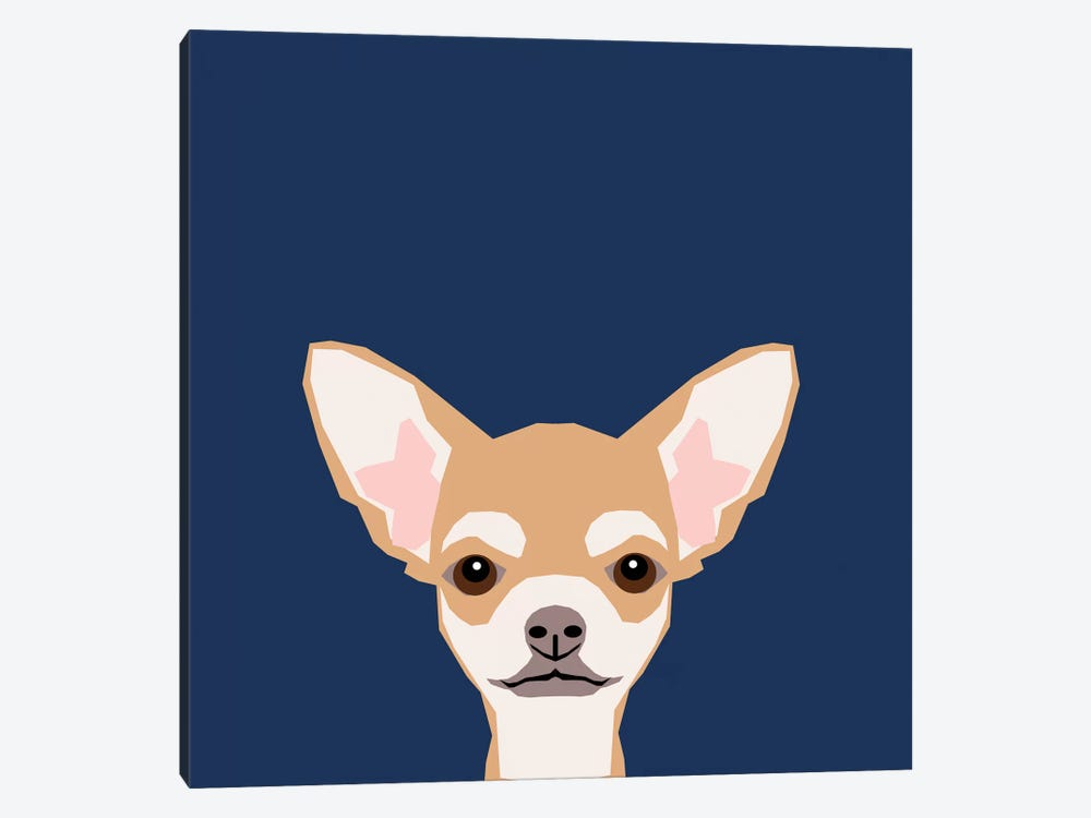 Chihuahua (Short-Haired) by Pet Friendly 1-piece Canvas Wall Art