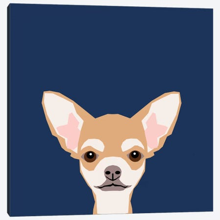 Chihuahua (Short-Haired) Canvas Print #PET24} by Pet Friendly Canvas Wall Art