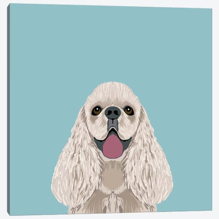 Cocker Spaniel Canvas Print #PET27} by Pet Friendly Canvas Artwork