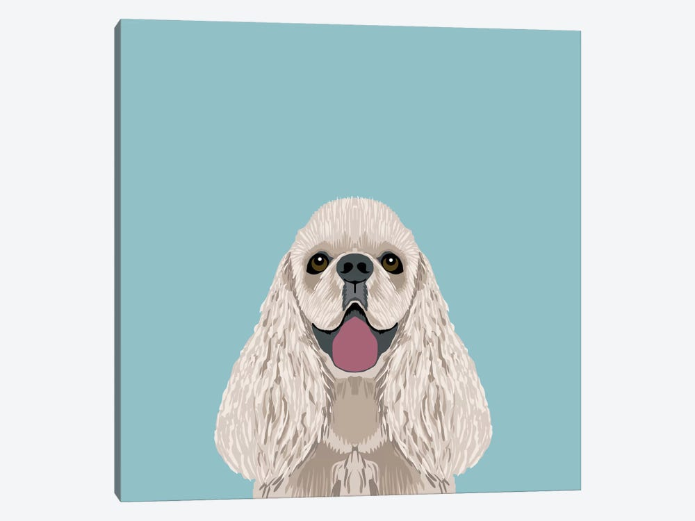 Cocker Spaniel by Pet Friendly 1-piece Canvas Print