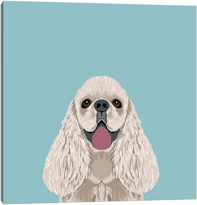 Cocker Spaniel Canvas Art Print