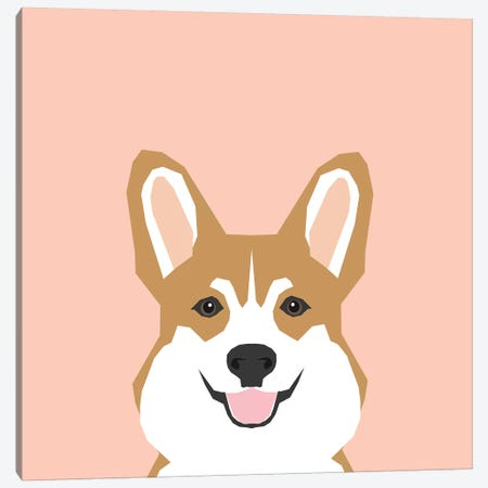 Corgi Canvas Print #PET28} by Pet Friendly Art Print