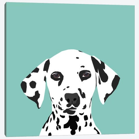 Dalmatian Canvas Print #PET33} by Pet Friendly Canvas Art