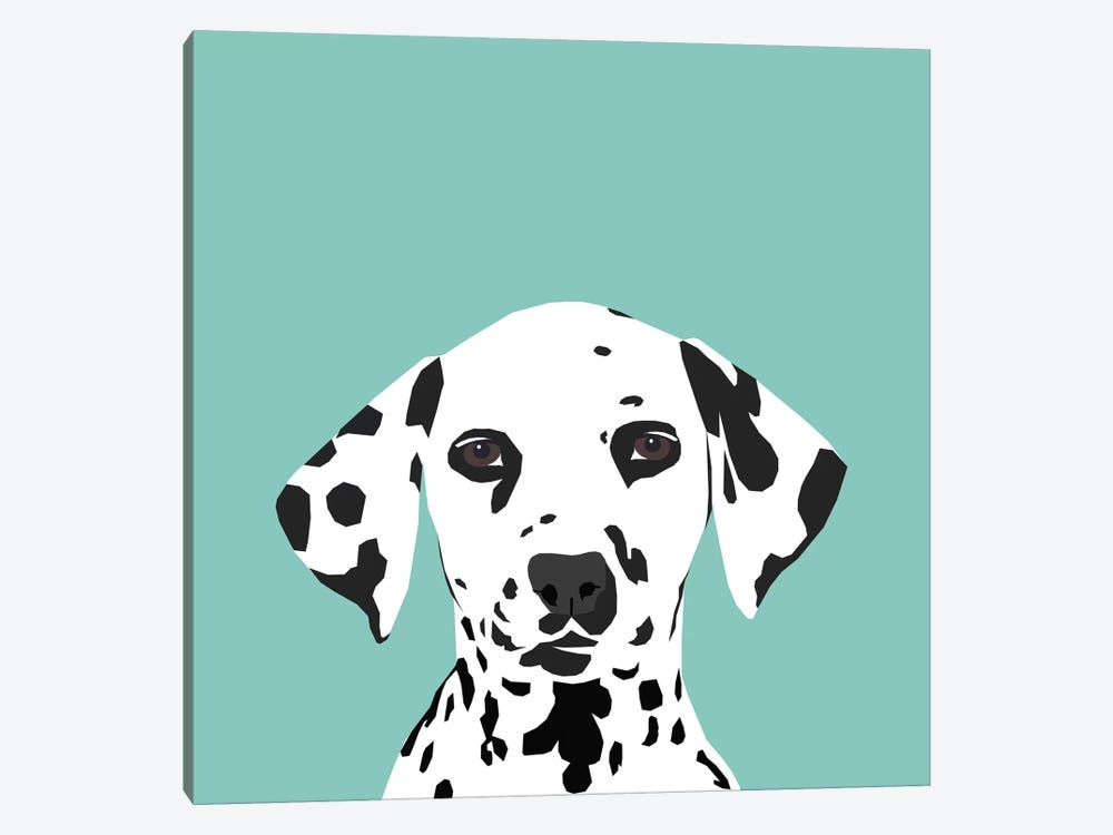 Dalmatian by Pet Friendly 1-piece Canvas Artwork