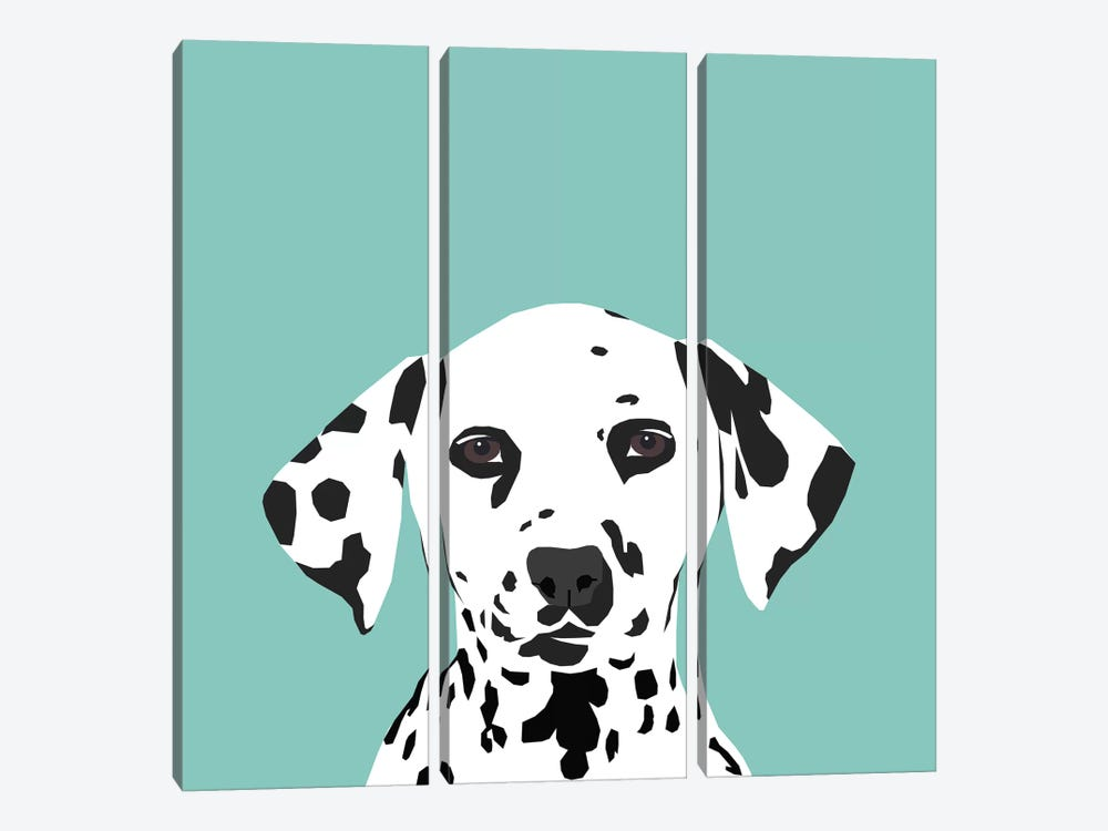 Dalmatian by Pet Friendly 3-piece Canvas Wall Art