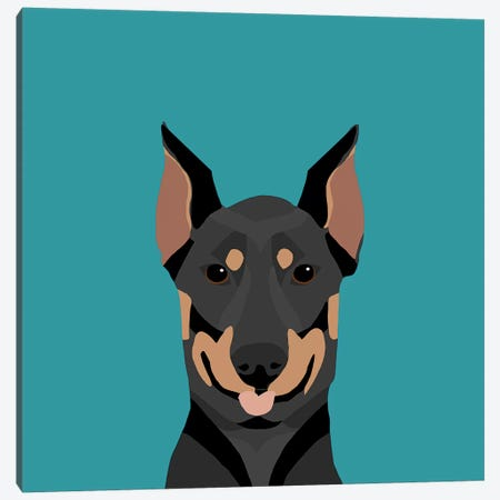 Doberman Pinscher Canvas Print #PET35} by Pet Friendly Canvas Print