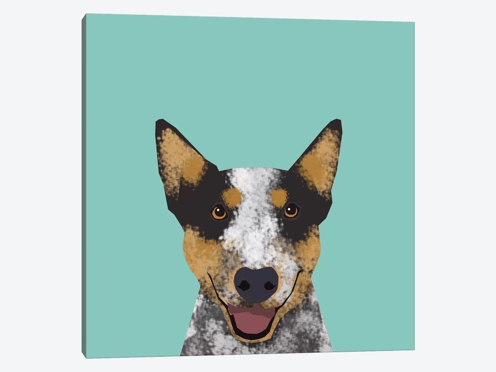 Australian Cattle Dog by Pet Friendly 1-piece Canvas Art
