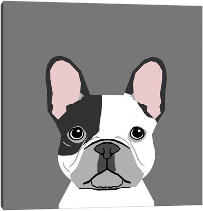 French Bulldog II Canvas Art Print