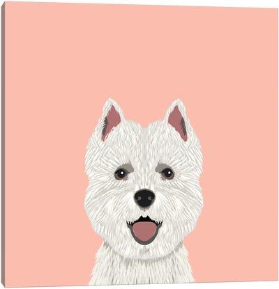 Highland Terrier Canvas Print #PET46