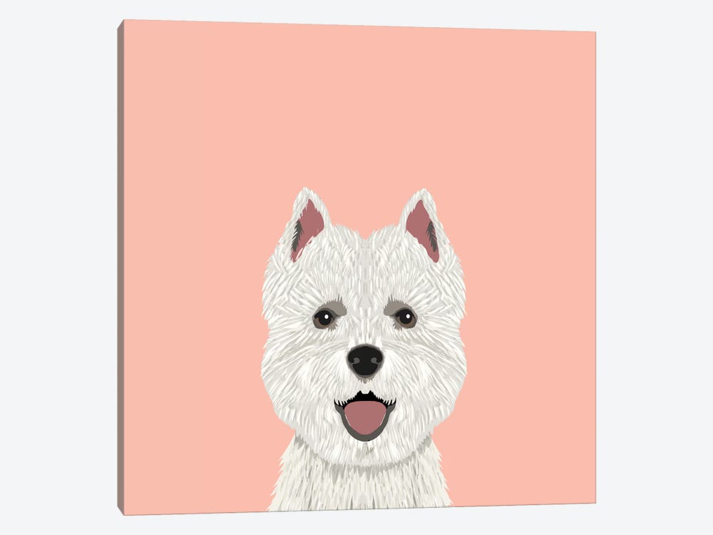 Highland Terrier by Pet Friendly 1-piece Canvas Art
