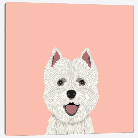 Highland Terrier Canvas Print #PET46} by Pet Friendly Canvas Wall Art