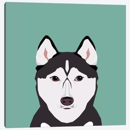 Husky Canvas Print #PET47} by Pet Friendly Canvas Art