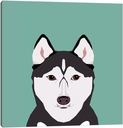 Husky Canvas Print #PET47