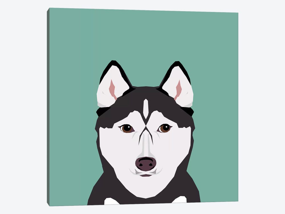 Husky 1-piece Canvas Print