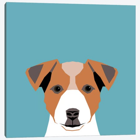 Jack Russell Terrier Canvas Print #PET48} by Pet Friendly Canvas Print