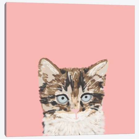 Kitten Canvas Print #PET50} by Pet Friendly Canvas Art