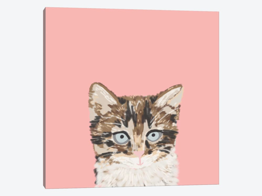 Kitten by Pet Friendly 1-piece Canvas Art Print