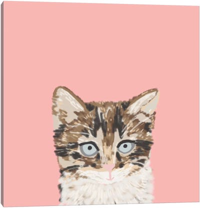 Kitten Canvas Art Print