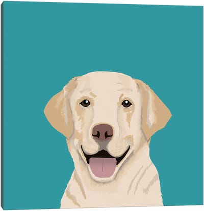 Labrador Canvas Art Print