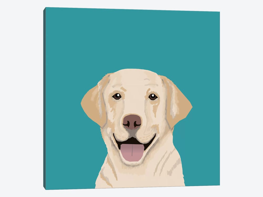 Labrador 1-piece Canvas Artwork