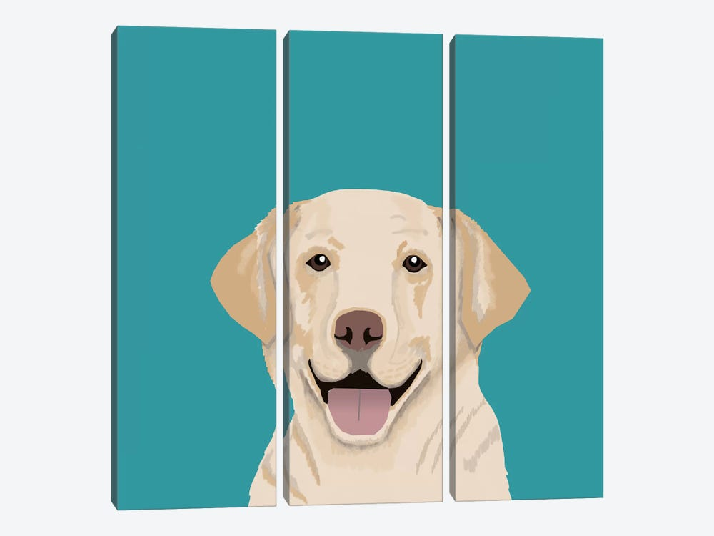 Labrador by Pet Friendly 3-piece Canvas Art